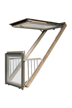 Fakro Dachbalkon Galeria - Gebraucht