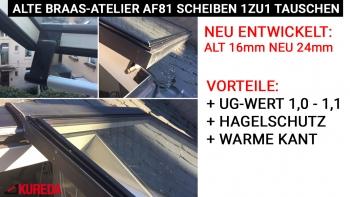 Braas-Atelier Scheiben AF 81 ab Bj. 1981 - 1986