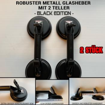 Professioneller Metall Glasheber - 2 Stück