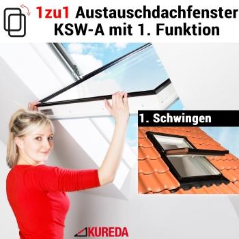 Velux Dachfenster VL, VU, VKU, VK 1zu1 austauschen - KSW-A