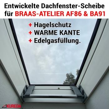 Braas Atelier Scheiben AF86 und BA91