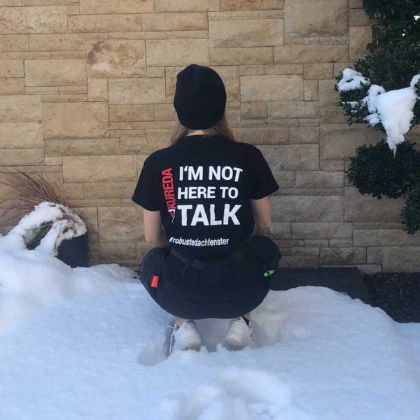 T-Shirt - IM NOT HERE TO TALK